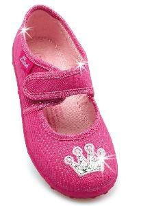 Beck  Kinder Ballerina Kindergartenschuhe Hausschuhe 654 Princess