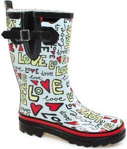 Beck Damen Gummistiefel Regenstiefel 807 Love