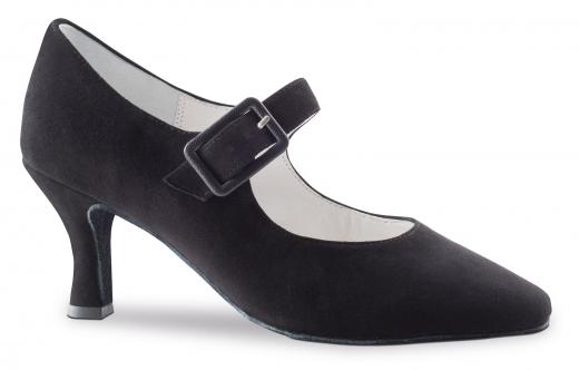 Anna Kern 684 Damen Tanzschuhe 684-60 schwarz Damentanzschuh mit 6 cm Absatz