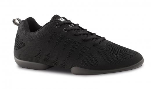 Anna Kern Tanzsneaker 120 Bold schwarz Sneaker mit geteilter Sohle