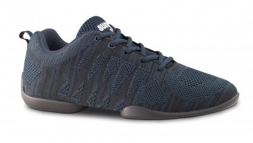 Anna Kern Tanzsneaker 130 Bold schwarz/blau  Sneaker mit geteilter Sohle