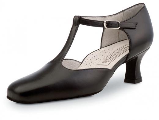 Werner Kern Celine Tanzschuhe Celine schwarz super comfort Damentanzschuhe mit 5,5cm Absatz