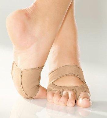 So Danca Lyrische Sandale Cat s Paw Gymnastkkappe MDE16 tan