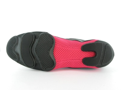 Bloch 570 Amalgam Tanzsneaker schwarz Pink Jazztanzschuhe geteilte Sohle