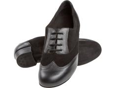 Diamant Trainer Schnürrtanzschuhe Tanzschuhe 063-029-070 schwarz mit 2,8cm Absatz  Inkl. Mc-Tanz Aufraubürste