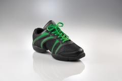 Capezio Sneaker DS30 Bolt Schwarz grün Tanzsneaker Restposten