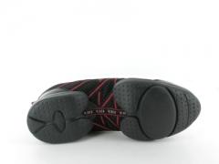 Bloch Tanz Sneaker BL 524 Criss Cross rot