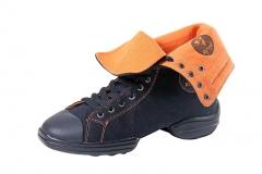 Rumpf Sneaker 1561 Two Star Sneaker orange Restposten