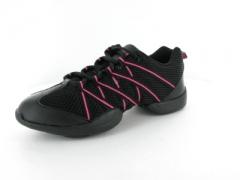 Bloch Tanz Sneaker BL 524 Criss Cross Pink Kindergröße Restposte