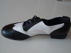 So Danca Tanzschuhe Swingschuhe Ledersohle ch95 Absatz 2,0 cm schwarz/weiß