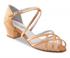 Anna Kern 520 Damen Tanzschuhe 520-35 bronze mit 3,5cm Absatz