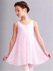 Capezio Kinder Ballett Trikot Anzug Ballettkleid 3968c Rosa und Weiss