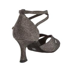 Diamant 181-087-510 Damen Tanzschuhe 181-087-510 bronze Brokat mit 6,5cm Absatz Inkl. Mc-Tanz Aufraubürste