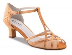 Anna Kern Damen Tanzschuhe 540-50 bronze mit 5cm Absatz Damentanzschuhe 540