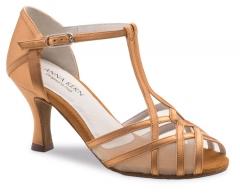 Anna Kern 640 Damen Tanzschuhe 640-60 bronce Damentanzschuh mit 6cm Absatz