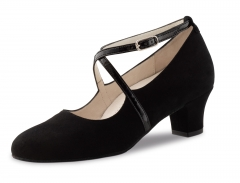 Werner Kern Damen Tanzschuhe Tabea 4,5cm Absatz schwarz comfort für Einlagen