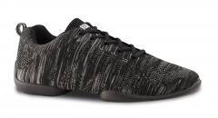 Anna Kern Tanzsneaker 125 Bold grau/schwarz  Sneaker mit geteilter Sohle