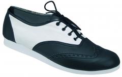 BLEYER 7102 Fast Feet 2  Swing Boogie Woogie Tanzschuh 7102 schwarz/weiss