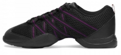 Bloch Tanz Sneaker BL 524 Criss Cross Pink in der Farbe Schwarz/Rosa BL524L