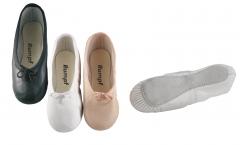 Rumpf Ballett Schläppchen Modell 1000 Ballettschuhe Restposten ROSA