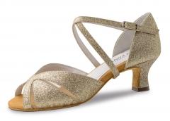 Anna Kern 620 Damen Tanzschuhe 620-50 Sparkle Gold