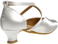 Diamant Brautschuhe Standard Tanzschuhe 107-013-092 weiss Inkl. Mc-Tanz Aufraubürste