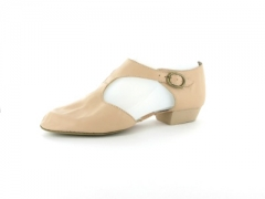 Capezio  Griechische Sandale Leder Pedini 321 pink Restposten