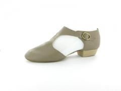 Capezio Damen Griechische Sandale Leder Pedini 321 tan Restposten