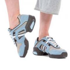 Capezio Dance Sneaker DS15 Groove Sky Blau Restposten US 6 (ca g