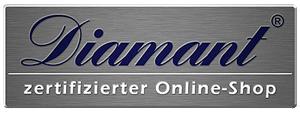 Diamant zertifizierter Online-Shop